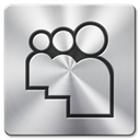 Myspace Silver icon