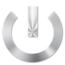 02, power Black icon