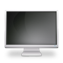 cinema, Display, Based, off Black icon