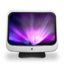 Imac, on, Based Black icon