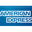 american, straight, express Teal icon