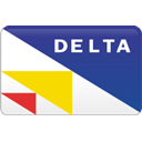 Delta, curved DarkSlateBlue icon