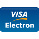 visa, curved, Electron Teal icon