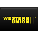 western, union, straight Black icon