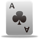playingcard, Game DarkGray icon