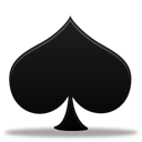 Game, Spades Black icon