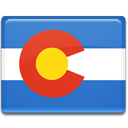 flag, Colorado RoyalBlue icon