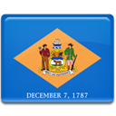 flag, Delaware RoyalBlue icon