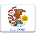 flag, illinois WhiteSmoke icon