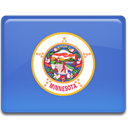 flag, minnesota RoyalBlue icon