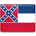 mississippi, flag Crimson icon