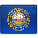 new, hampshire, flag MidnightBlue icon