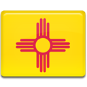 flag, Mexico, new Gold icon