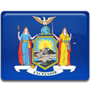 new, york, flag MidnightBlue icon