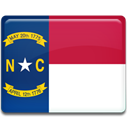 Carolina, flag, north MidnightBlue icon