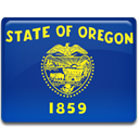oregon, flag MidnightBlue icon