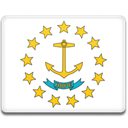 rhode, flag, Island Icon