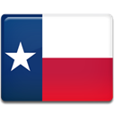 texas, flag Crimson icon