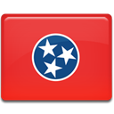 flag, tennessee Crimson icon