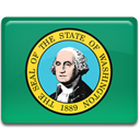 flag, washington SeaGreen icon