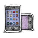 03, Handy Black icon