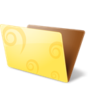 Folder, open Khaki icon
