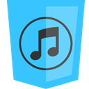 itunes DeepSkyBlue icon