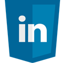 Linkedin Teal icon