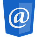 mail, Email, e-mail RoyalBlue icon