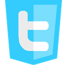 twitter Turquoise icon