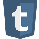 Thumblr DarkSlateBlue icon