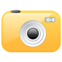 Camera SandyBrown icon