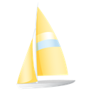 sail boat, sailing, sailing boat, Boat Black icon