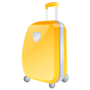 suitcase Black icon