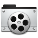 Movies Black icon