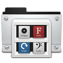 Library Black icon