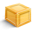 Box SandyBrown icon