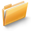 Folder SandyBrown icon