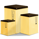 Containers Khaki icon