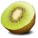 Kiwi, Fruit DarkKhaki icon