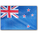 Nz, flag SteelBlue icon