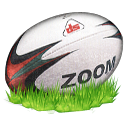 Rugby, Ball OliveDrab icon