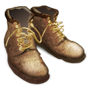 tramping, Boots DarkOliveGreen icon