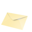 Email, recu Black icon
