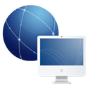 network, Imac Black icon