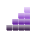 volume, violet Black icon