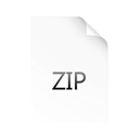 Zip Black icon
