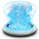 Trashfull SkyBlue icon