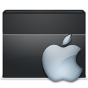 Apple, Folder DarkSlateGray icon