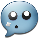 Chat, isaac Black icon
